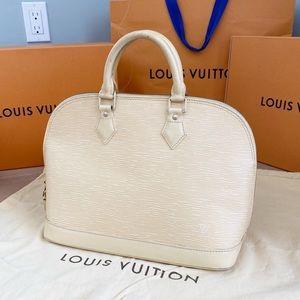 💖EPI ALMA💖Authentic Louis Vuitton Yellow Satchel